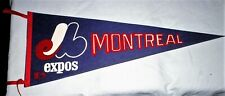 MONTREAL EXPOS VINTAGE 1969 MLB FELT PENNANT FULL SIZE 1969 **EXCELLENT COND**