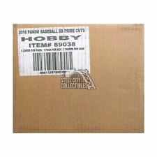 2016 Panini Prime Cuts Baseball Hobby 10-Box Case
