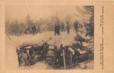ALSACE FRANCE LARGE GUN & SOLDIERS WWI MILITARY POSTCARD (c. 1915)