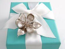 Auth Tiffany & Co.Silber Orchidee Brosche Schachtel Enthalten