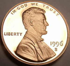 United States 1996-S Proof Cent~Proofs Are Best