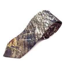 """Mens Mossy oak Camouflage Break up Camo Long Dress tie Wedding Skinny 2.3/4"""""""