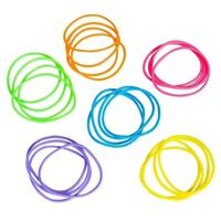 144 Jelly Bracelets Rainbow Neon Holiday stocking stuffers Christmas Gifts Toy