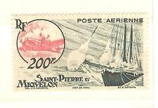 TIMBRES St PIERRE ET MIQUELON P. AERIENNE NEUFS SANS CHARNIERES YVERT N° 20