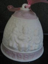 Lladro 1987 Annual Bell Ornament Children
