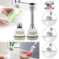 360°Rotatable Moveable Kitchen Tap Head Faucet Water Saving Filter Sprayer Tools