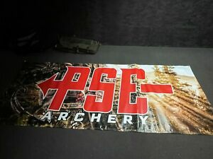 PSE Archery Wall Banner w/ 6 Grommets for Easy Hanging