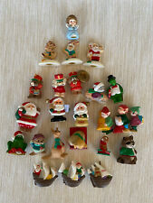 Hallmark Merry Miniatures Christmas lot of 24 1989-1995