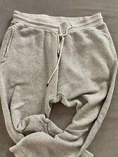 R13 Sweatpant Drop Crotch Gray Pants Size XS Crop Loose Drawstring