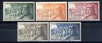Sellos de España 1952 1111/1115 Fernando el Catolico sellos nuevos ref. 03