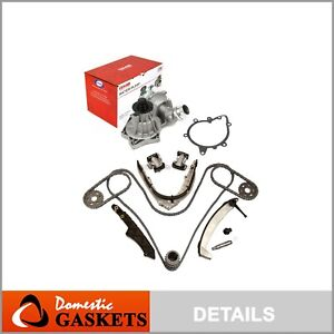 Timing Chain Kit Water Pump Fits 99-03 BMW 540I 740I X5 Z8 Range Rover 4.4L DOHC