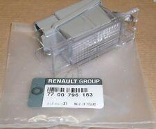 RENAULT CLIO III MEGANE II MASTER II NUMBER PLATE LAMP LIGHT GENUINE  7700796163