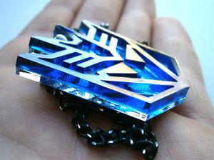 Megatron Necklace -Transformers Pendant - Decepticons - Laser Cut