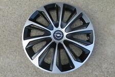 4 Alu-Design Radkappen 14 Zoll STRONG schwarz/silber für Opel
