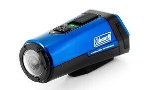 Coleman AktivSport CX9WP-BL 1080p HD Action Sports Camera w/ GPS & Health Stats