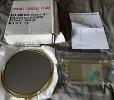 Brass Effect Extending Wall Mounted  Shaving Mirror (New)