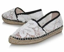 08293e786 KG Kurt Geiger MITZY Lace Espadrille Casual Shoes Size 6 - EU 39 NEW