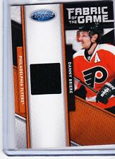 11-12 2011-12 CERTIFIED DANNY BRIERE FABRIC OF THE GAME JERSEY /399 104 FLYERS