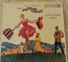 sound of Music Rodgers Hammerstein Julie Andrews Christopher Plummer Vinyl LP