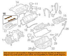 Fuel Injection Plenum Gasket Chevrolet malibu 99 - 05 GM OEM 12481317 Bn10