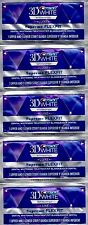 CREST 3D White LUXE Supreme Flex-Fit Whitestrips Teeth  Strips x5 packets