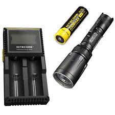 Combo: Nitecore SRT7GT Flashlight  w/NL183 2300mAh Battery & D2 Charger