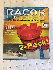Genuine Parker Racor 31871, Fuel Filter/Water Separator (Twin Pack) 35-884380T
