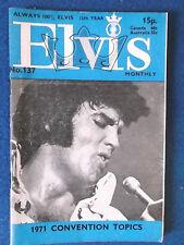 Elvis Presley -  Elvis Monthly Magazine - 12th Year - Issue 137 - June 1971