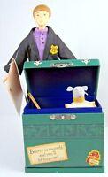 2000 Hallmark Figurine Ron Weasley & Scabbers School Trunk + tags Harry Potter