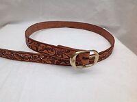 Western American Leather Belt Vintage