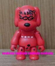 """Toy2R x N.E.R.D.Fly or Die Pharrell I'm A Dirty Dog! 2.5""""Qee 2004 Loose"""