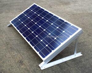 "GreenergyStar Solar Panel Z Bracket, 24"", 28"" Adjustable RV Mounting Mount Rack"