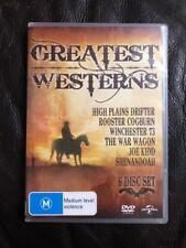 GREATEST WESTERNS DVD ---(6 Disc Set) Region 4