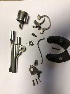Hopkins & Allen Safety Police 32 revolver parts, barrel and cylinder