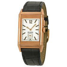Jaeger LeCoultre Grande Reverso Ultra Thin Duoface GMT 18kt Pink Gold Mens Watch