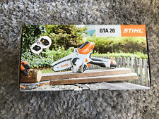stihl GTA26 battery pruner with accessories carry case brand new