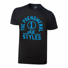 "WWE AUTHENTIC  AJ STYLES  ""THE PHENOMENAL"" -  T-SHIRT - LARGE - BRAND NEW"