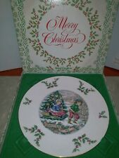 Royal Doulton 1979 Annual Christmas Holiday Plate in Box Mint Condition!