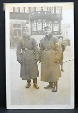 Foto Polen Feldzug Winter Soldat 1939-40 WK 2 WW2 Soldiers Photo (Lot I-369
