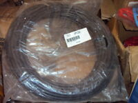 "NEW NYCOIL 3//8/""OD X 100 FT BLACK POLYETHYLENE TUBING PN# 62661"