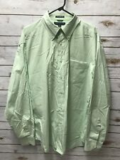 Tommy Hilfiger Golf Men's Long Sleeved Button Down Shirt size XL 80's 2 ply