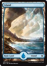 MTG Magic - (L) Battle for Zendikar - Island #255 FULL ART - NM/M