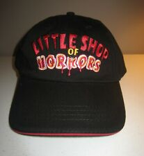 LITTLE SHOP OF HORRORS Black Embroidered Adult Baseball Hat Cap Broadway Theatre