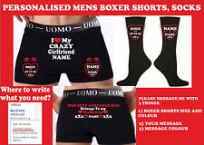 personalised boxer shorts Birthday party boyfriend/husband/wedding gift funny