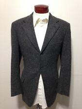 H34 Brioni Men's Cashmere Blazer Size 40R Sport Coat Italy 3-Button Gray Specks