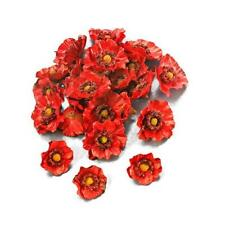 Knorr Prandell Plastic Flower Heads - 24pcs Poppies #048