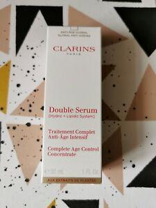 Genuine Clarins Anti Aging Double Serum - 30ml