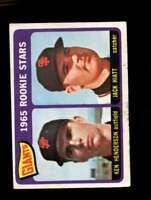 1965 TOPPS #497 KEN HENDERSON/JACK HIATT GOOD+ (RC) GIANTS GIANTS ROOKI *SBA2964