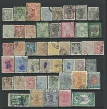 Middle East Cinderella and revenue stamps 1900s a page of used stamps