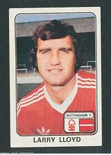 * Nottingham Forest-Larry LLOYD * PANINI FOOTBALL 79 - 288 * Autocollant